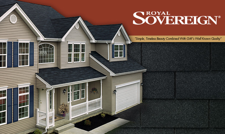 Royal Sovereign® Roofing Shingles