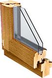 Деревянные окна со стеклопакетами ОСП