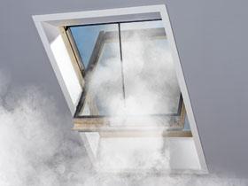Окно с дымоудалением