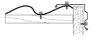 Монтаж ветровой планки