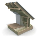 Стропильные конструкции, теплый чердак